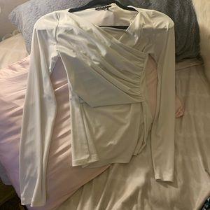 DKNY Long Sleeve Tight Shirt